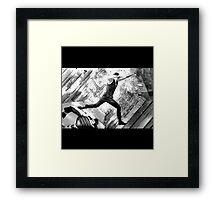 INCEPTION. Framed Print