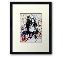 The Mechanical Noises Of Hysteria.. Framed Print