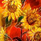 Design...Sunflowers by  Janis Zroback