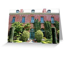 The Filoli House Greeting Card