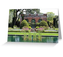 The Garden House at Filoli Greeting Card