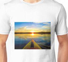 Kayaking Sunrise Unisex T-Shirt