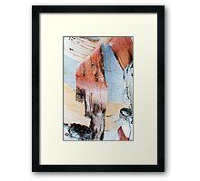 paper birch Framed Print