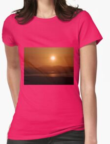 Honey Coloured Donegal Hills - Ireland Womens Fitted T-Shirt