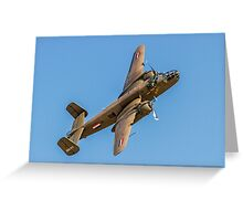 B-25J Mitchell 44-29507/PH-XXV Greeting Card