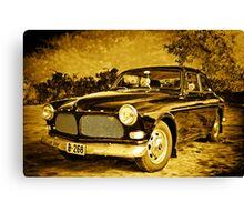 Old Volvo Canvas Print