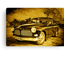 Old Volvo Canvas Print