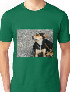 Lonely Puppy Unisex T-Shirt
