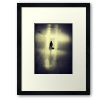 It's our light, not our darkness Framed Print