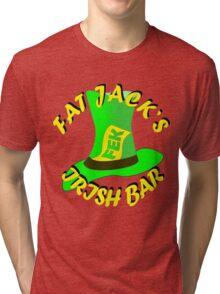 Fat Jacks Irish Bar Tri-blend T-Shirt