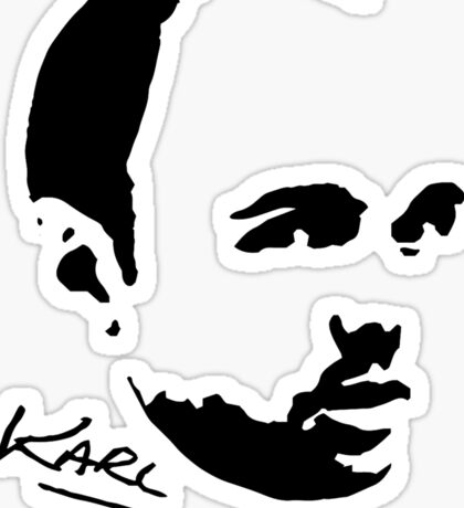 Karl Pilkington - Karl Sticker