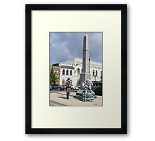 16th Tennessee Infantry  Monument Framed Print