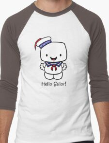 Hello Sailor! Men's Baseball ¾ T-Shirt