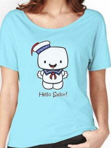 Hello Sailor! Women's Relaxed Fit T-Shirt