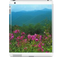 PHLOX ALONG BLUERIDGE PARKWAY iPad Case/Skin