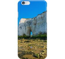 The arch of Kingsgate Beach in Kent iPhone Case/Skin
