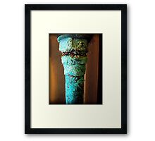Pretty Patina Framed Print