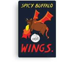 Spicy Buffalo Wings Canvas Print
