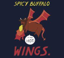 Spicy Buffalo Wings One Piece - Long Sleeve