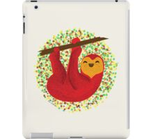 Happy lazy Sloth iPad Case/Skin