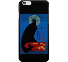 Gotham Fine Art Gallery: La Bat Noir iPhone Case/Skin