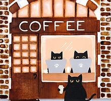 Coffeehouse Cats by Ryan Conners