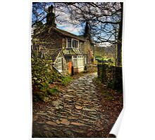 Old Cumbrian House Poster