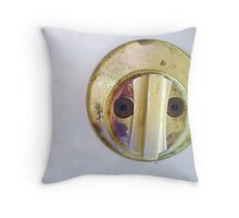 mr. lock Throw Pillow