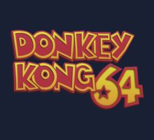 Donkey Kong 64 Logo Kids Clothes