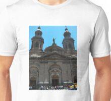 Santiago Cathedral, Palza De Armas, Chile Unisex T-Shirt