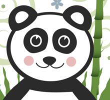 Cute Baby Panda Vector Illustration Sticker