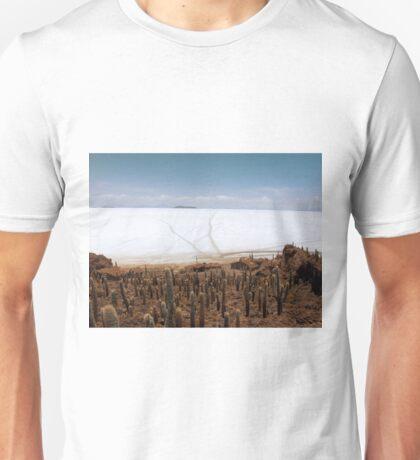 Fish Island, Salar de Uyuni, Bolivia Unisex T-Shirt