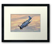 SBD Dive Bomber Framed Print