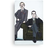 Victorian Johnlock Canvas Print