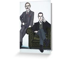 Victorian Johnlock Greeting Card