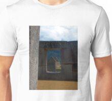 Window to the Old World, Machu Picchu, Peru Unisex T-Shirt