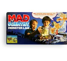 MAD SCIENTIST - MONSTER LAB  Canvas Print