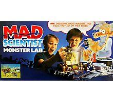 MAD SCIENTIST - MONSTER LAB  Photographic Print