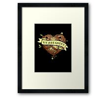 We Are Groot Framed Print