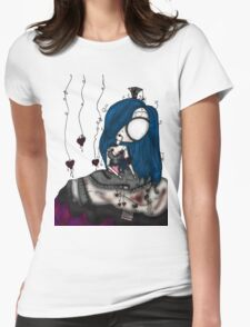 Lonely doll. Womens Fitted T-Shirt
