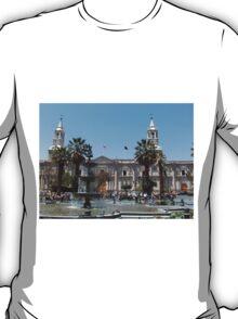 Arequipa Cathedral, Peru T-Shirt