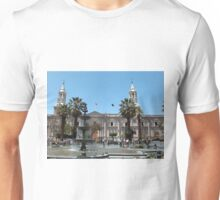Arequipa Cathedral, Peru Unisex T-Shirt