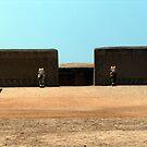 Chan Chan Mud City, Peru by Martyn Baker | Martyn Baker Photography