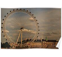 London Eye - looking at me Poster