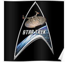 StarTrek Command Silver Signia Enterprise NX01 Poster