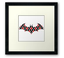Arkham - Harley style Framed Print