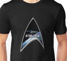 StarTrek Command Silver Signia Enterprise Unisex T-Shirt