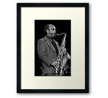 Jimmy Heath_2 Framed Print