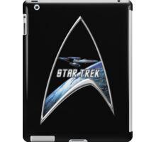 StarTrek Command Silver Signia Enterprise iPad Case/Skin