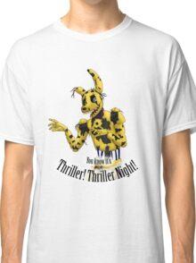 Springtrap - Thriller FNaF 3  Classic T-Shirt